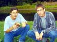 Фото двух игроков из Эстонии - Адуна и Анаги;